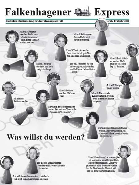 Titelblatt Falkenhagener Express Frühjahr 2009