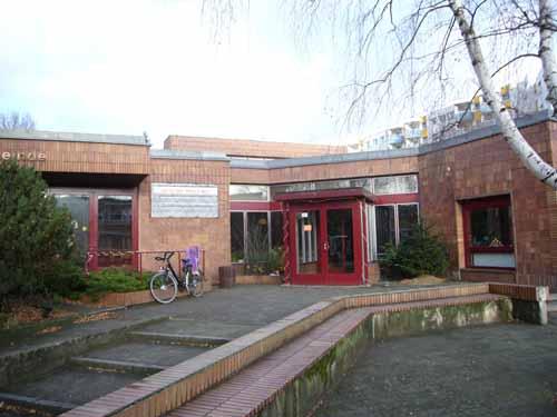 Paul-Gerhardt-Gemeinde in Berlin-Spandau, Eingangsbereich
